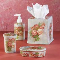 pORCELAIN BATH ACCESSORY SET AT MARINA CITY CHICAGO GIFT SHOP GALLERY