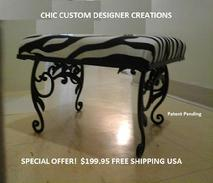 CHIC CUSTOM DESIGNER CREATIONS IS ON MARINACITYTV.COM